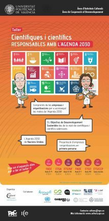 CTALENT_Taller Científiques i científics responsables amb l'Agenda 2030